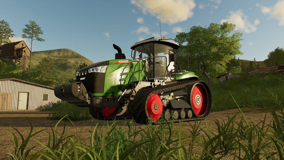 Farming Simulator confirme l'arrivé du Fendt 1100 MT ! DkEOrJeXoAE6M2f