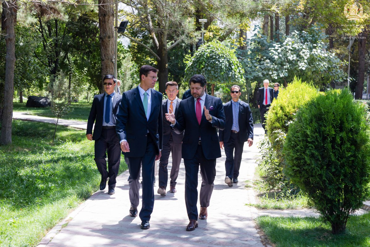Farewell gathering and a walk with Ambassador Walter Hassmann, who will be missed in Kabul. Walter represented Germany well, especially in difficult circumstances when the biggest attack ruined their Embassy. Wish him well in Malta as the German Ambassador @GermanyinAFG