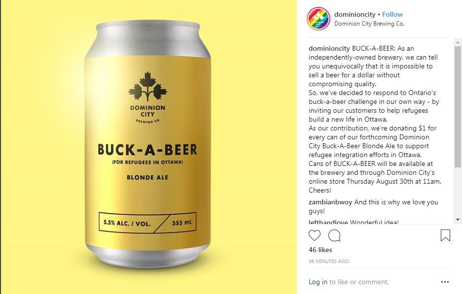 Résultats de recherche d'images pour «buck a beer for refugee»