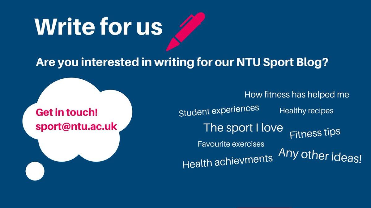 NTU Sport on Twitter: