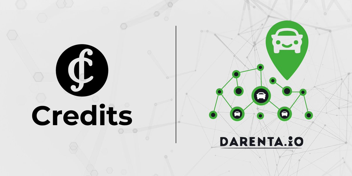 Credits and @darenta_com will develop carsharing services using blockchain technologies  More info:   https:// credits.com/en/Home/New_In s/4123 &nbsp; …   @creditscom  #CREDITS #CREDITSplatform #CStoken #Fintech<br>http://pic.twitter.com/gnby265Y1h