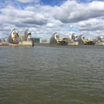 At the @thames_barrier today for a PFR Task Group 5 meeting about changing attitudes to #flood #resilience in the UK.