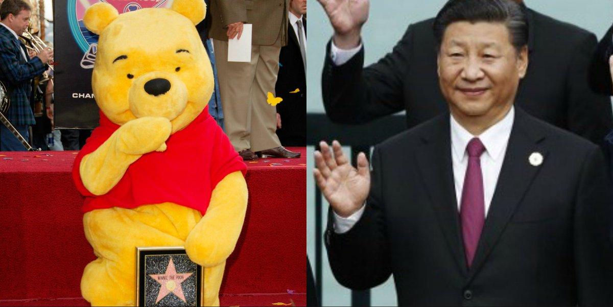 Winnie l'Ourson à nouveau censuré en Chine pour sa ressemblance avec Xi Jinping https://t.co/CJBFUWQ5Rg