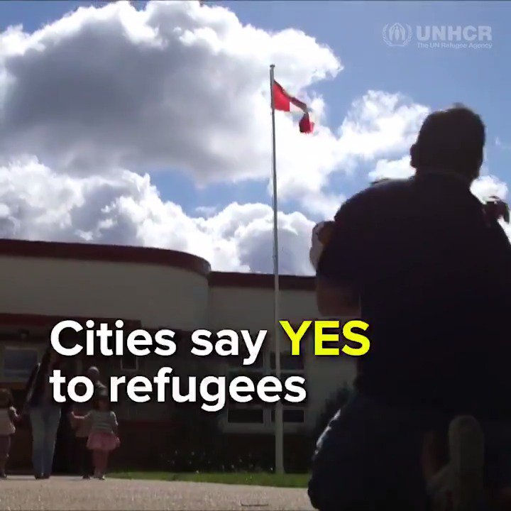 Over 60 cities 🌏 have said yes to supporting refugees. Does your city stands with refugees? 🏠🏢🏛