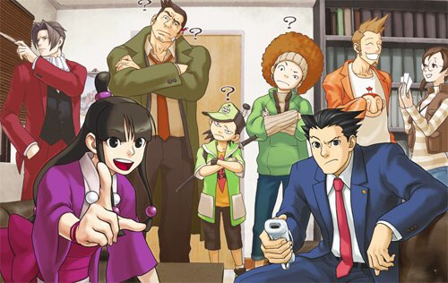 Ethan On Twitter Ace Attorney Has The Absolute Best Official Art Of Any Game
