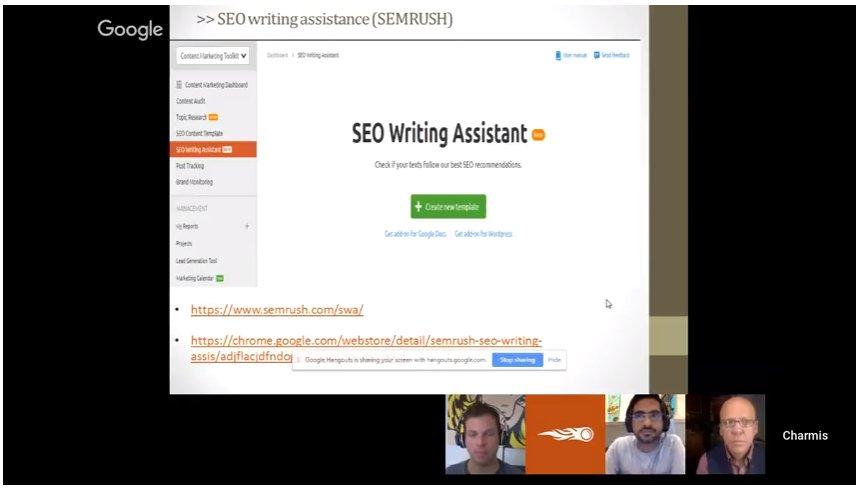 Some Of Semrush Webinar