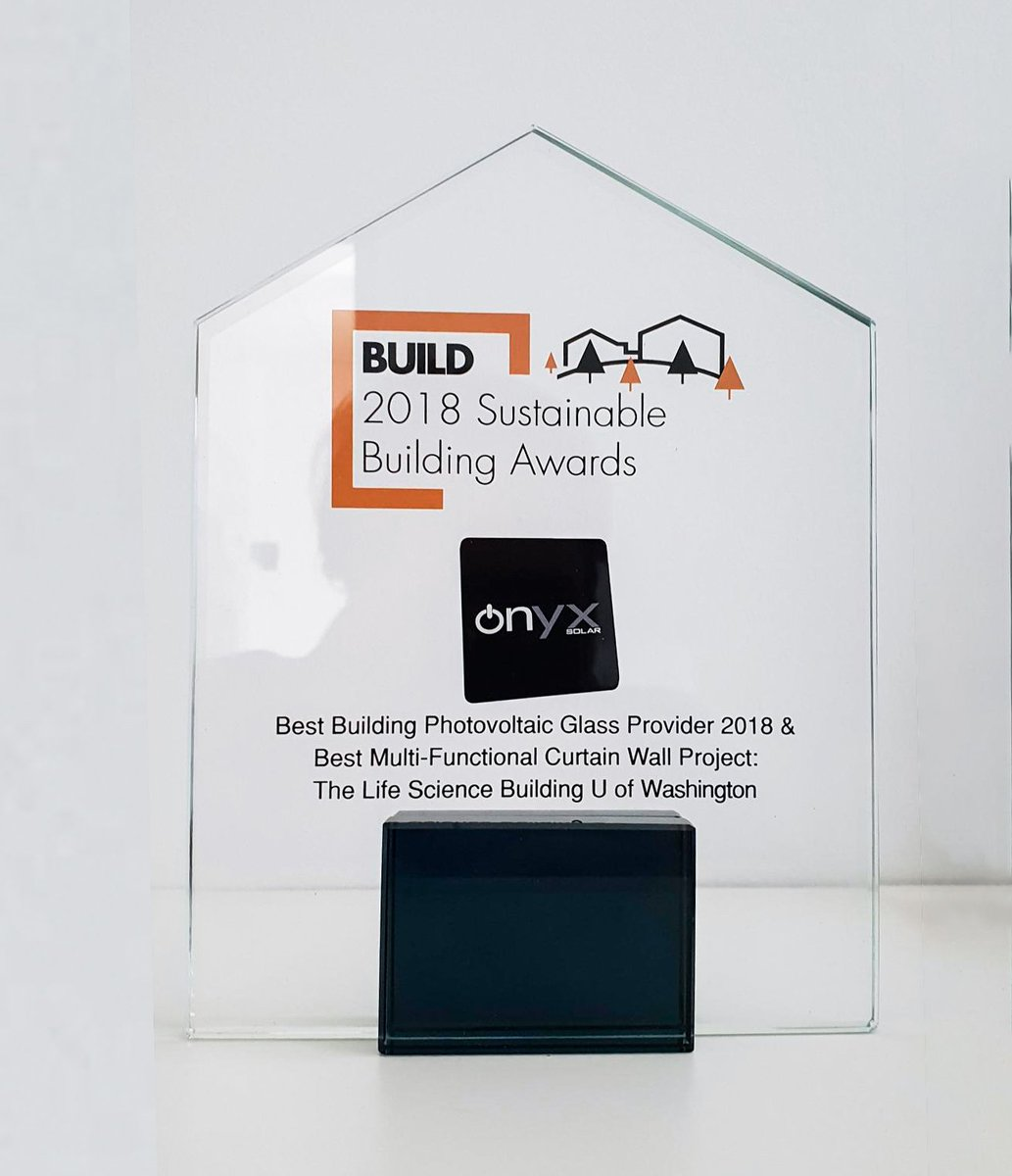 Onyx Solar On Twitter We Have Won Two Other Awards At The