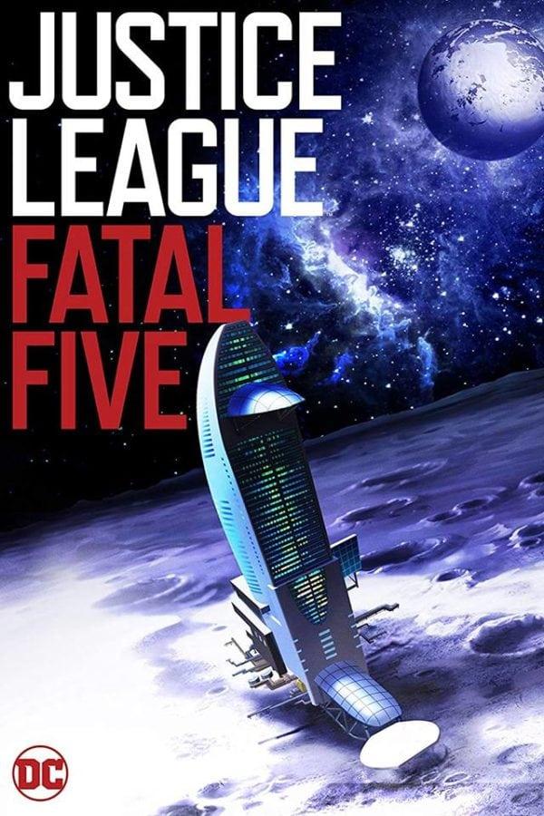 justice league fatal five 2019 poster ile ilgili görsel sonucu