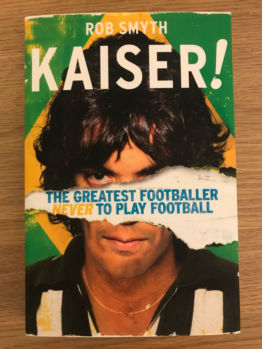 The Totally Football Show is back and to celebrate were giving piles of stuff away for free. Starting with Rob Smyths excellent KAISER! book (watch @kaiserfilm too, its ace) RT and Follow for a chance of winning when the workie picks someone at random in ONE HOUR (and 8mins)