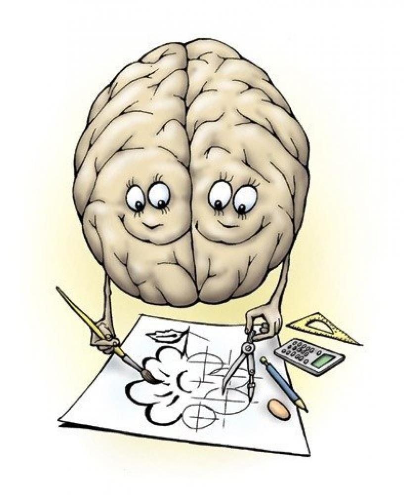 Сделать, прикольные картинки на тему мозга