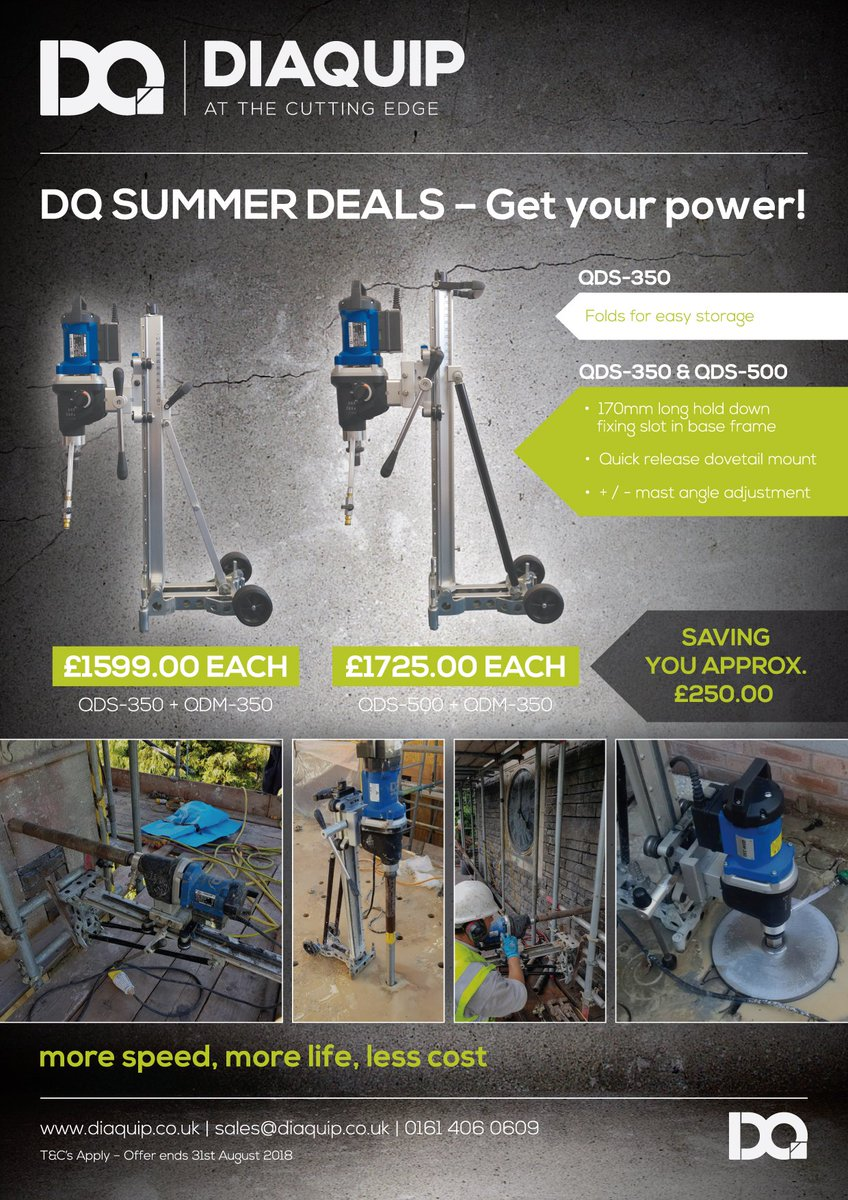 954498e4f02 Don t forget we currently have our SUMMER DEAL in full flow   QDM-350 +  QDS-350 or QDS-500... Deal ends 31st August so get your order in now whilst  stocks ...