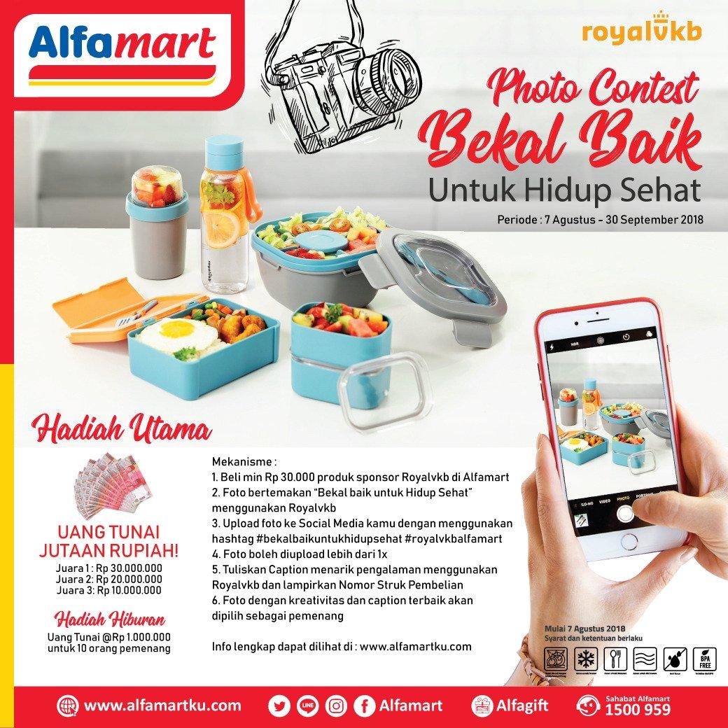 Alfamart On Twitter Menangkan Hadiah Uang Tunai Jutaan Rupiah E Voucher 1 Juta 400 Am 8 Aug 2018