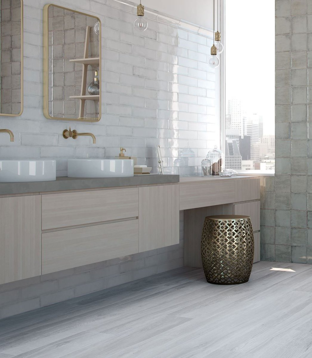 London Tile Co On Twitter Combine Vintage White Wall Tiles With