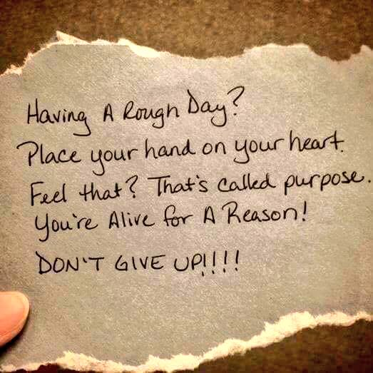 Bam! You're alive for a reason...never forget that! #JoyfulLeaders