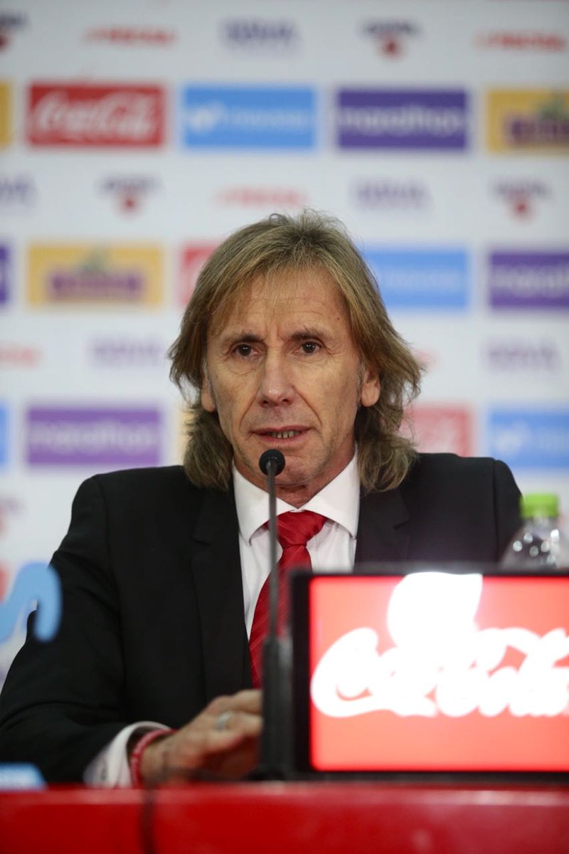 Selección Peruana's photo on Ricardo Gareca