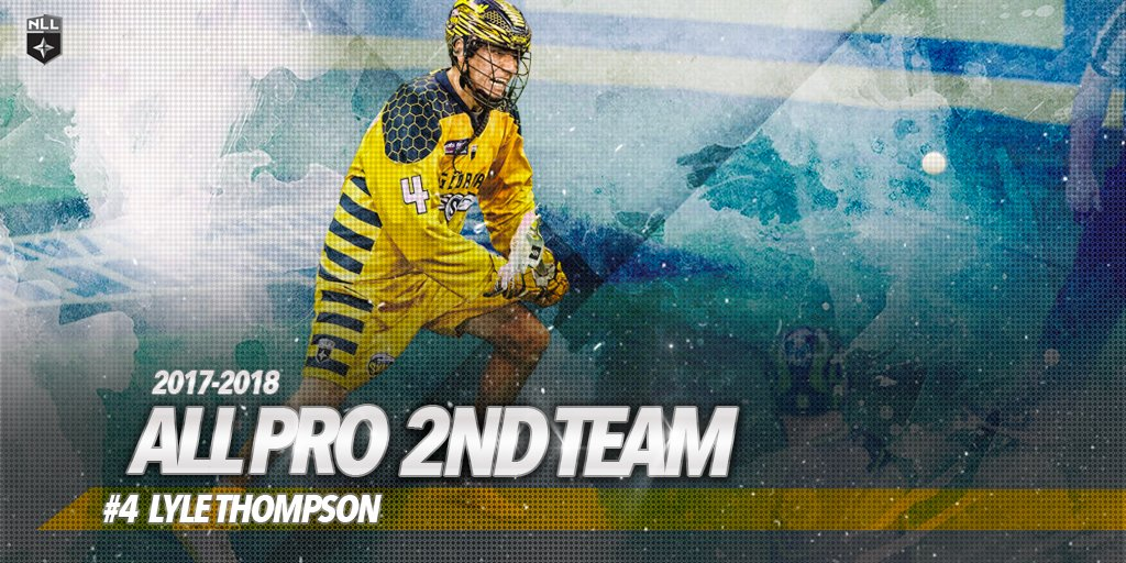 All-Pro player on and off the field. Congrats to @lyle4thompson for making the All-Pro Second Team! #swarming🐝