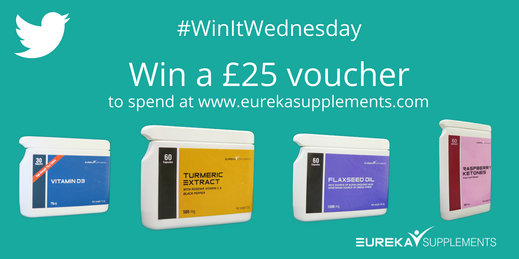 #WinitWednesday we've got a fabulous #competition #giveaway :: #win a £25 voucher to spend on our site   http:// ow.ly/paOu30ka9p3  &nbsp;  . Comment #yourlifestylecompanion, RT and follow @eurekasup to enter. Entries in by noon 13 August please. T&amp;Cs -  http:// ow.ly/zXI030ka9j2  &nbsp;  <br>http://pic.twitter.com/c2iJkXablN