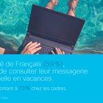 Image for the Tweet beginning: [#EtudeCisco] À la plage ou