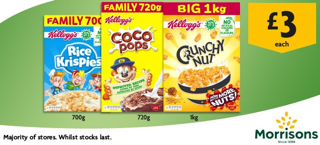 Morrisons On Twitter Stock Up On Family Favourites This Summer At