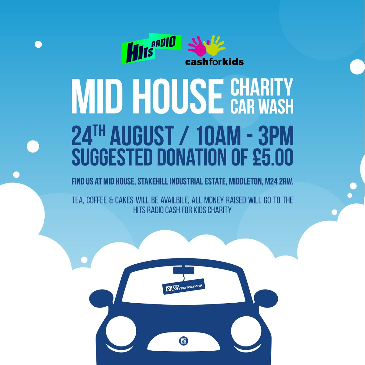 Mid Communications On Twitter Hi Guys On Friday 24th August We Re
