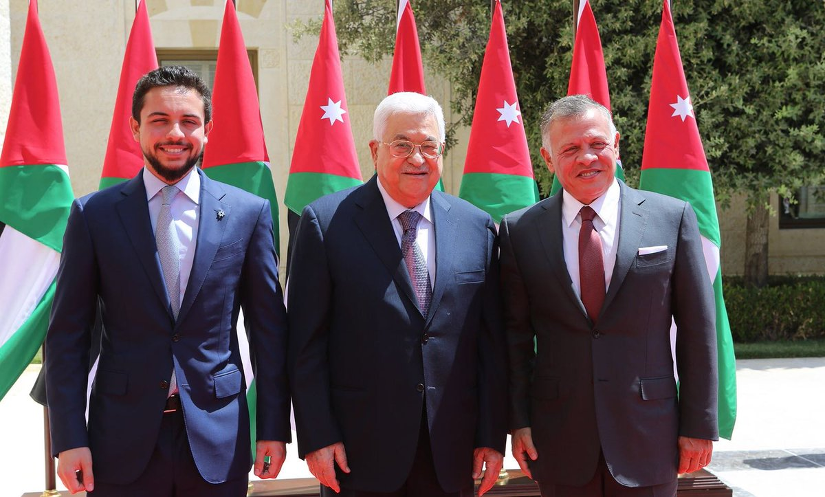 XooX מבזקי חדשות - אבו מאזן נפגש בעמאן עם מלך ירדן עבדאללה ובנו יורש העצר