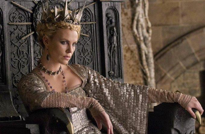 happy birthday queen. Theron