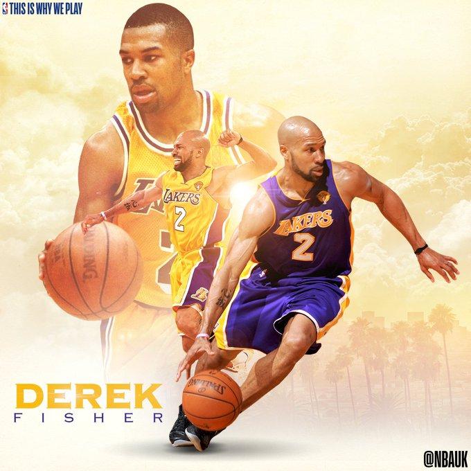 Happy birthday to legend, Derek Fisher