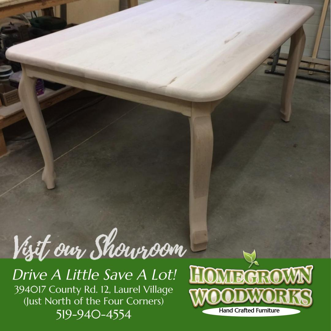 Order your Maple Wellington Harvest Table in time for Thanksgiving and the holidays! Order yours today! #Homegrown #Woodworks #shoplocal #custom #handmade #SolidWood #furniture #CabinetMaker #Laurel #Orangeville #Caledon   http://www. homegrownwoodworks.com / &nbsp;  <br>http://pic.twitter.com/LkQVd7xvpQ