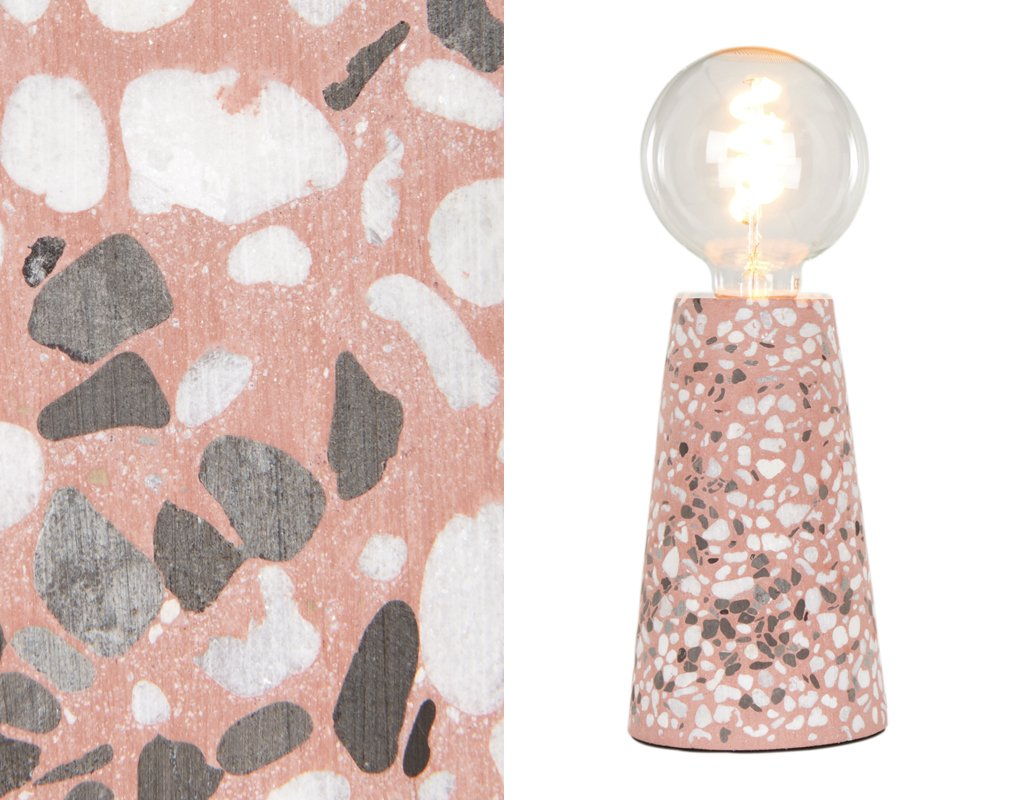 Last chance! WIN this Jett table lamp in pink terrazzo from @madedotcom! Simply RT &amp; follow BOTH @mywarehousehome and @madedotcom to enter. Ends midnight tonight GMT. UK only, for more info:  http:// bit.ly/2n3g46c  &nbsp;     #WinItWednesday #giveaway<br>http://pic.twitter.com/bX9eWTkiBk