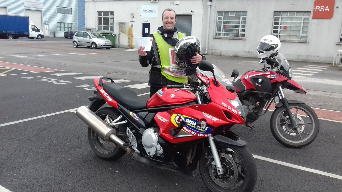 @AirportDrive Irelands most successful driving school and Irelands largest fleet of Motorcycles. Get your license now.