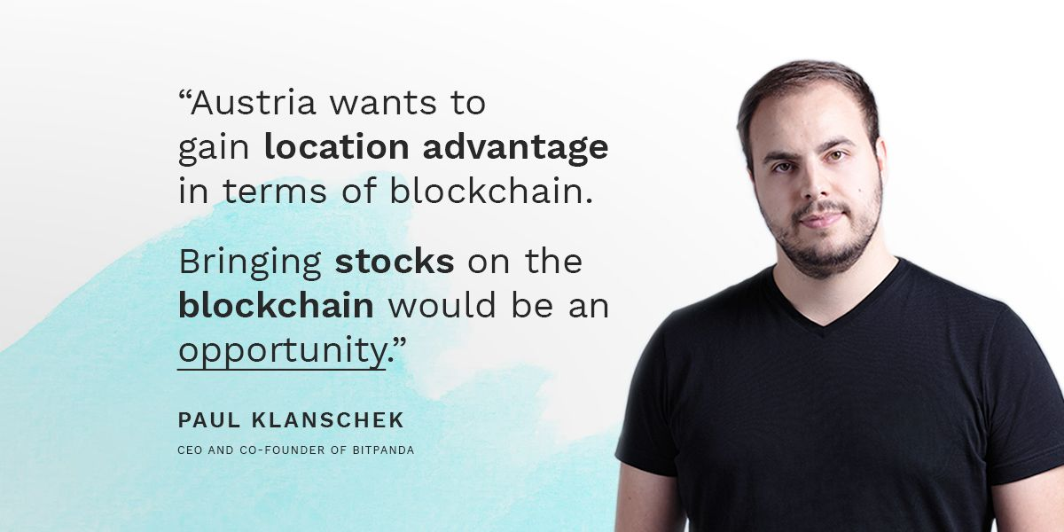 Paul Klanschek (@TwinWinNerD), our CEO and co-founder, on his vision for Austria's position in advancing blockchain technology and how this can be achieved. Full article with @derbrutkasten (DE): derbrutkasten.com/pantos-token-b… #bitpanda