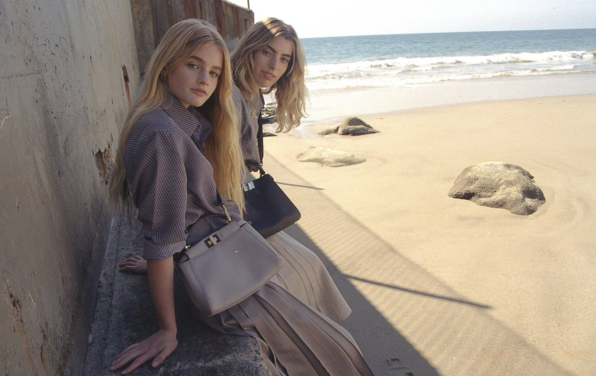 e37f7645dc6e join the fendi family share your fendi peekaboo with starring sisters clara  and esther mcgregor discover