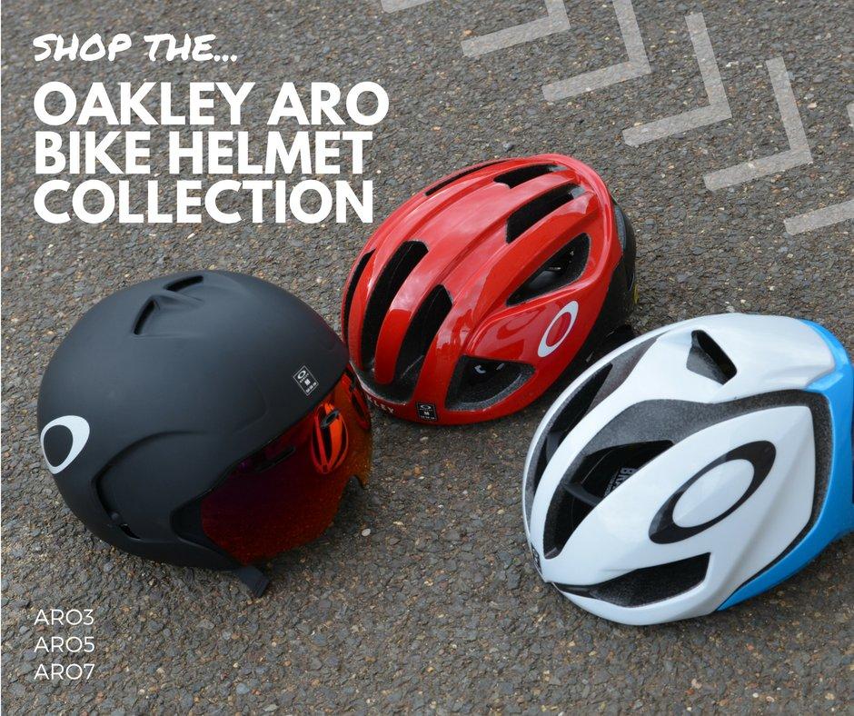 ba1016d062 Shop the Oakley ARO Bike Helmet Collection. Now with 20% Off RRP! https