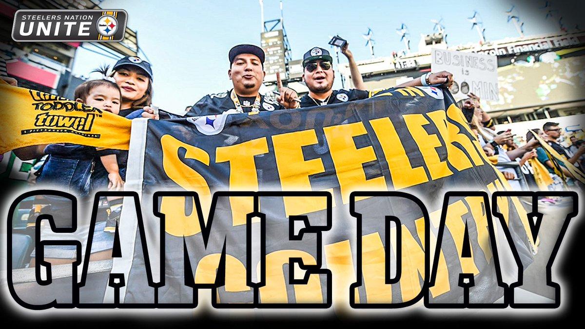 #Steelers football is back tonight! #HereWeGo #SteelersNation