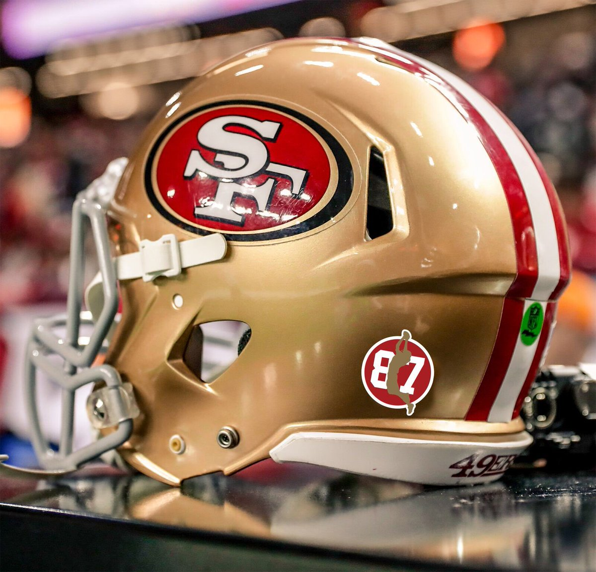 San Francisco for Life Sport Decal 5 X 4 49ers Football