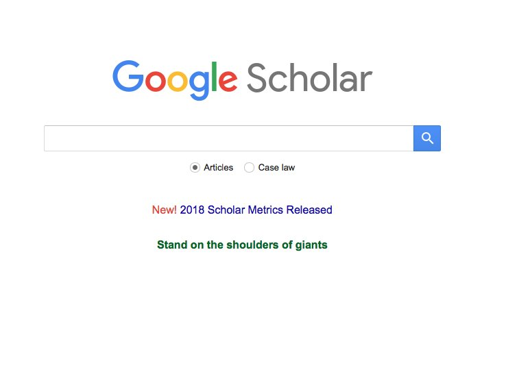 I did not know about this until now. For my fellow writers when you want to go deeeeep on a subject. #googlescholar thanks @amyguth  http:// ow.ly/wJVk30ljVFd  &nbsp;  <br>http://pic.twitter.com/WilUfJ6lKE