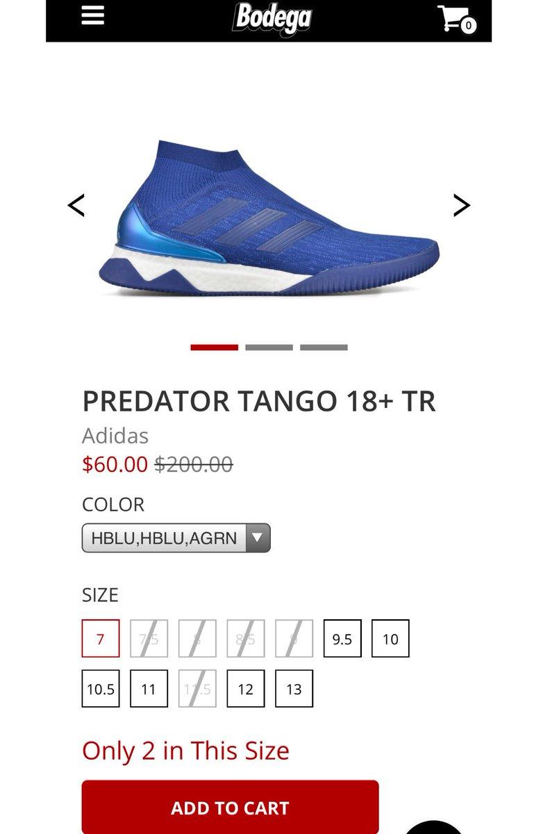 8fda089df668 A few steals on Bodega Predator Tango 18+ TR Royal  60 https