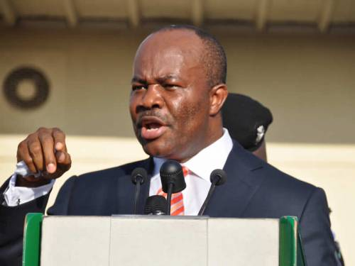 BREAKING! Senator Godswill Akpabio Formally Dumps PDP For APC