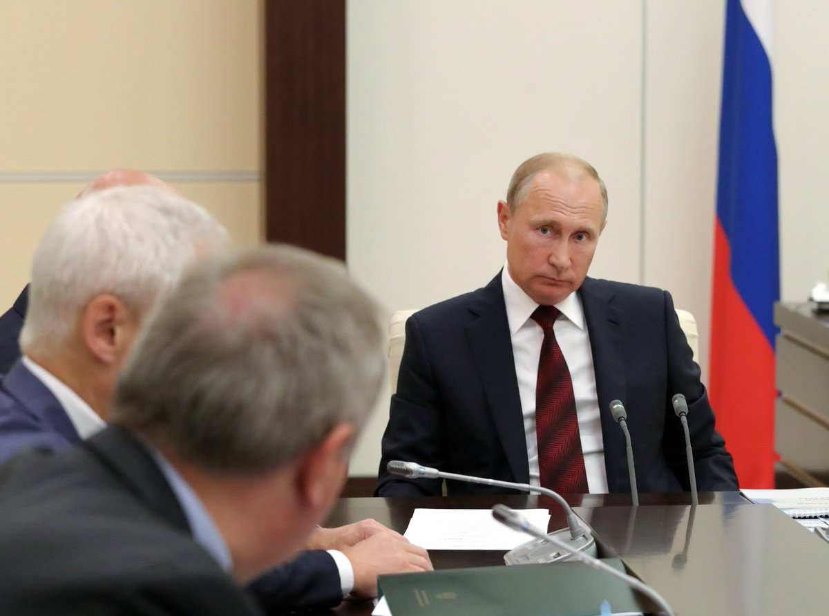 The President held a meeting on space sector development bit.ly/2KCc3Pi