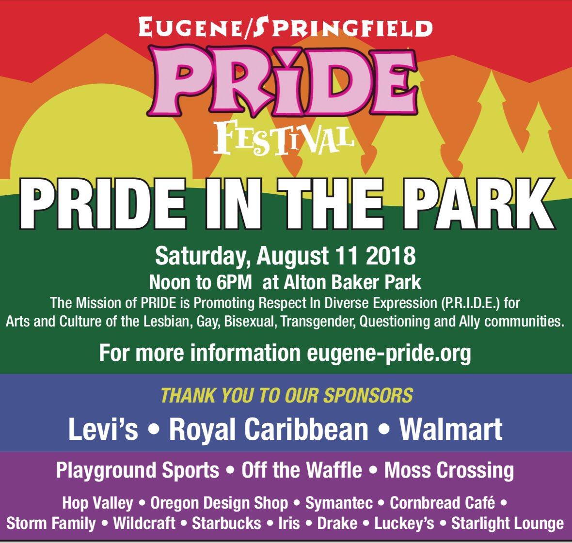 Eugene Gay Pride on Twitter: