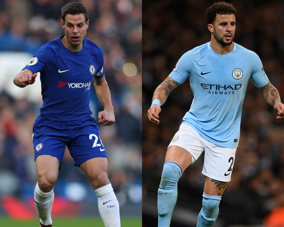 Who is the better Right Back?   RT - Azpilicueta  - Kyle Walker <br>http://pic.twitter.com/rGwZZilkDw