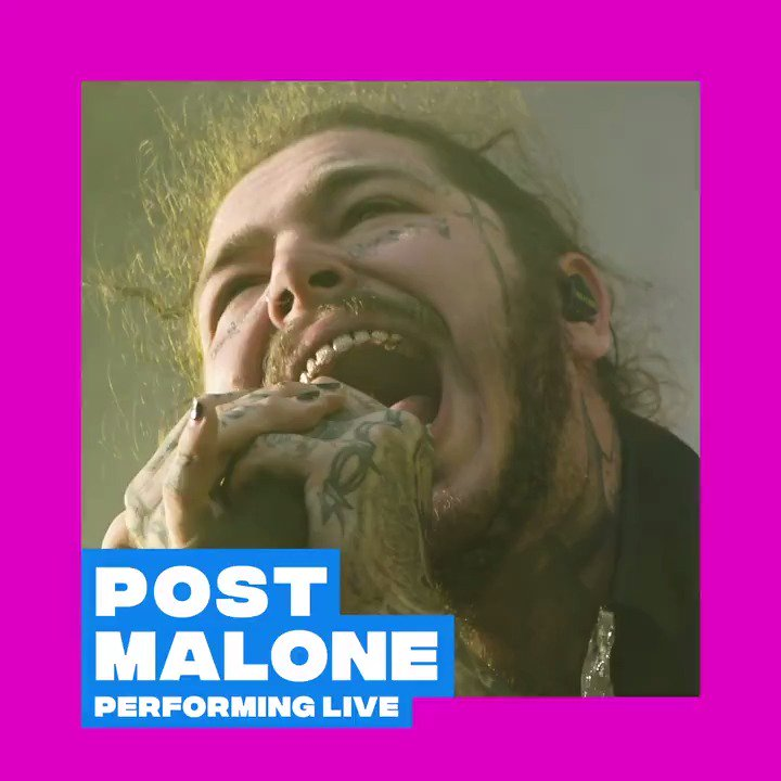 OH, IT'S ON...������  @PostMalone will perform LIVE at the 2018 #VMAs. Don't miss out August 20th on @MTV!���� https://t.co/twcdiPriJh