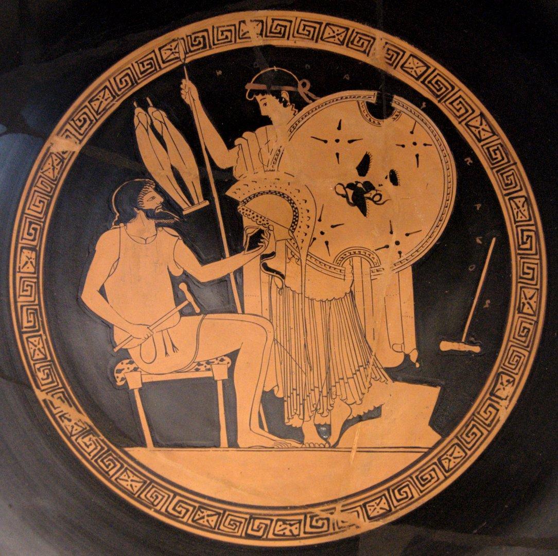 имеет греческие богини картинки на вазах колокольцев