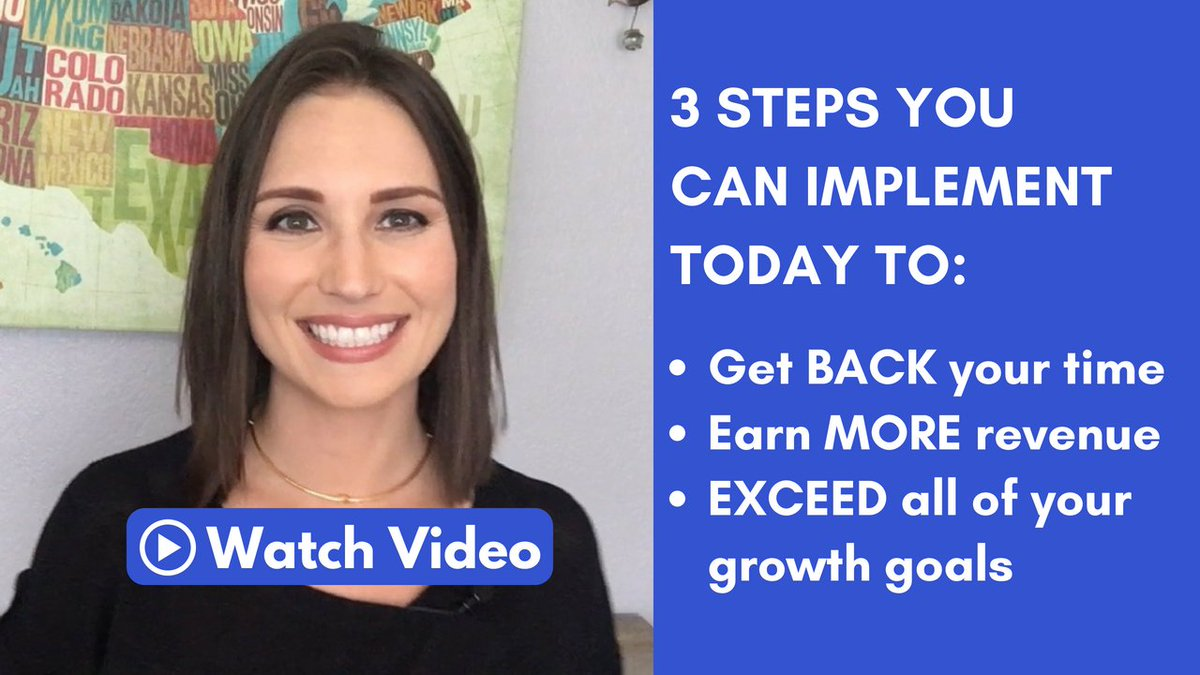 #Digitalagency owners: @MandyModGirl created a brand new video revealing 3 simple steps you can start implementing TODAY to stop the madness, get back your time & start exceeding your #biz growth goals.  But it comes down TONIGHT at 11:59pm - so watch now! https://t.co/KIIJPGQWvJ