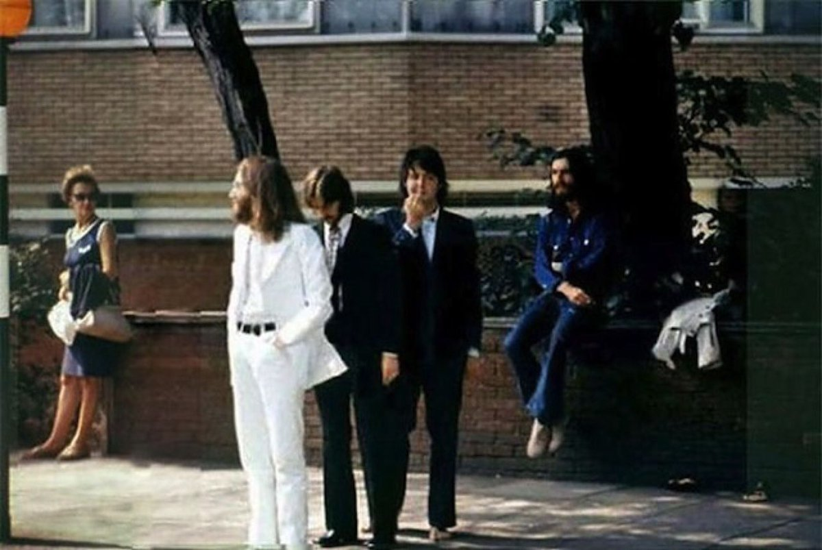 george harrison on twitter otd 8aug1969 thebeatles waiting to
