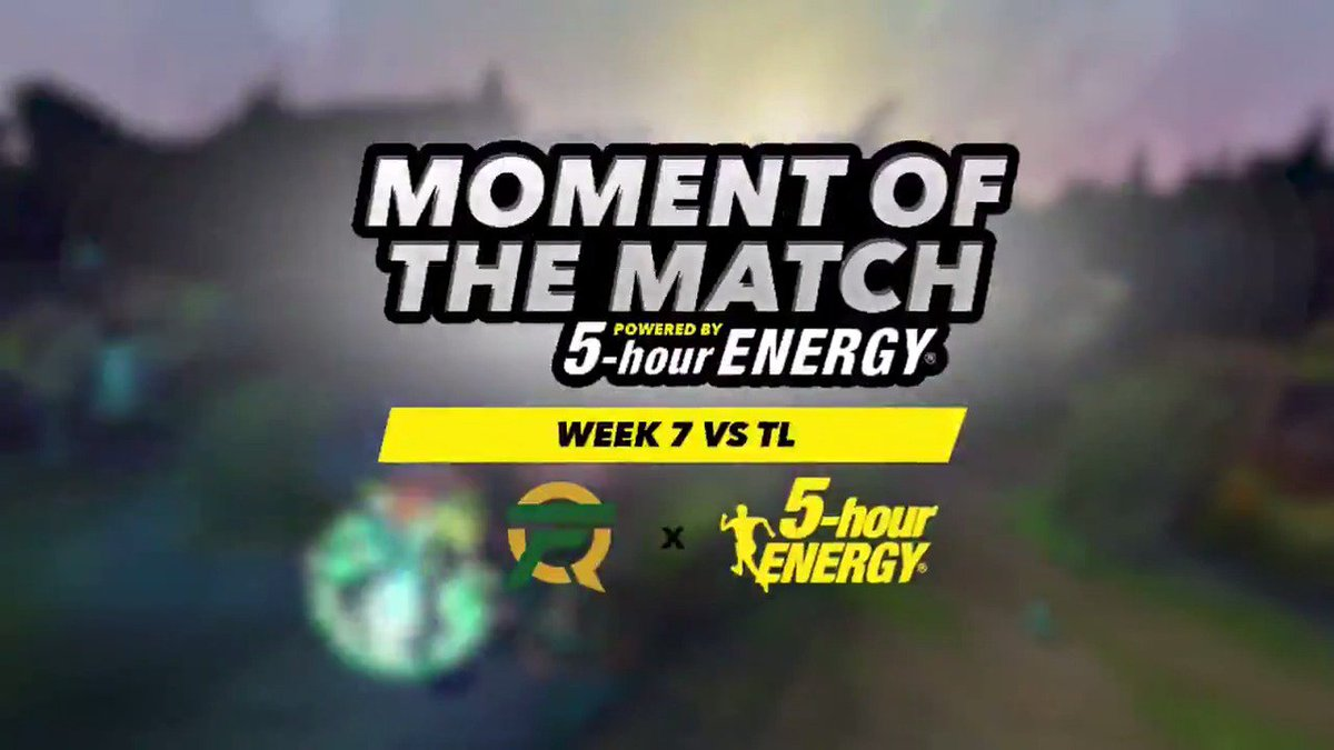 When all looked lost @FlameKR cleaned up a crucial team fight with an amazing Flash-Q over the wall to grab the double and open the door for us against TL. Dive deeper into the fight with this weeks @5hourENERGY Moment of the Match.