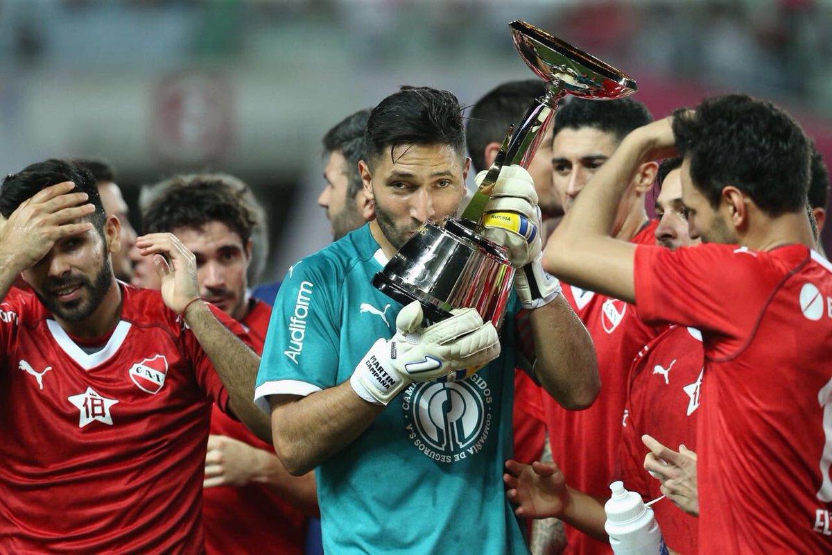 Dale Campeón 👑👹🏆. 18 Cups @Independiente #ReydeCopas #ElUnicoRey #TodoRojo