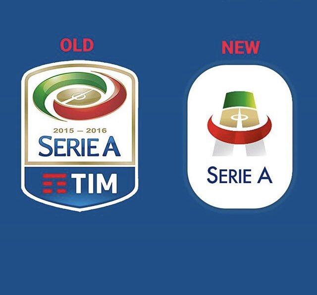 New Serie A logo