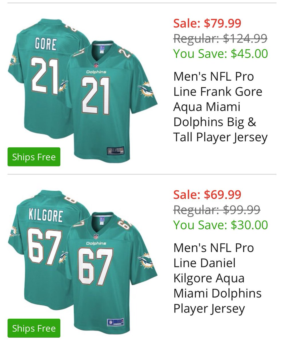 New Kevin Nogle on Twitter: When the @MiamiDolphins pro shop gets  for cheap