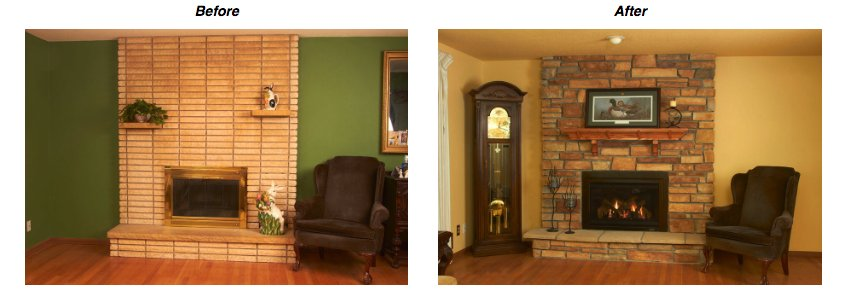 Renovation Gasinsert Http Www Heatnglo Ping Tools Blog How To Update And Upgrade An Existing Fireplace Aspx Pic Twitter Omi9cfbkma